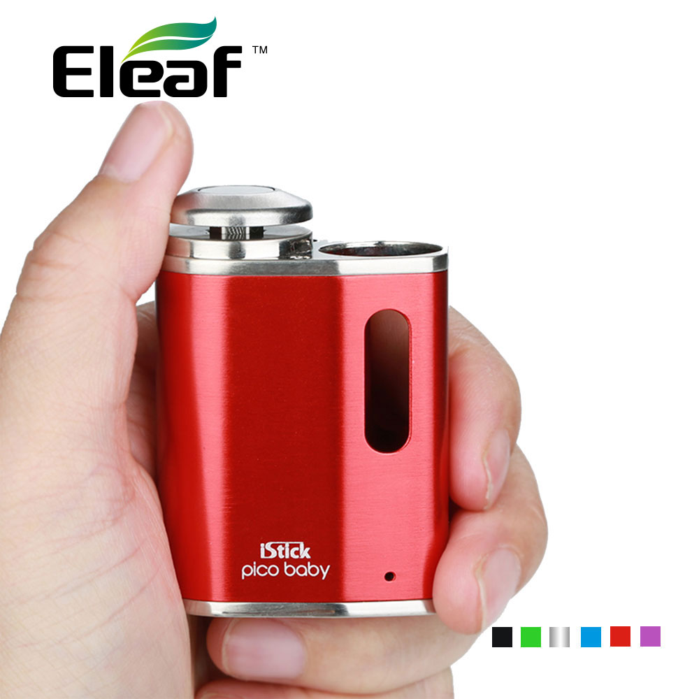 100% Original Eleaf IStick Pico Baby 1050mAh Built-in Battery With Safe Lock For Fire Button Electronic Cigarette Vaping Mod