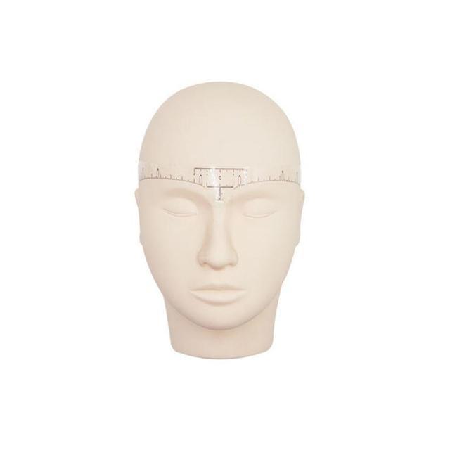 50Pcs Disposable Eyebrow Stencil Makeup Microblading Measure Tattoo Ruler Beauty Tool 2U912