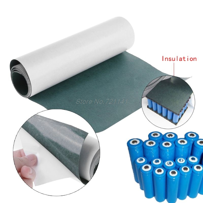 18650 Battery Insulation Gasket Barley Paper Li-ion Cell Insulating Glue Patch Insulation Gasket MAR20 Dropship