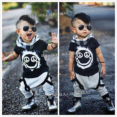 Cool boys summer clothes 2PC Baby Boys Outfit Toddler ...