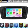 MTK3360 DVD Player Do Carro Para Seat Ibiza 2009 2010 2011 2012 2013 2014 com 800 mhz cpu dual core de bluetooth rádio GPS