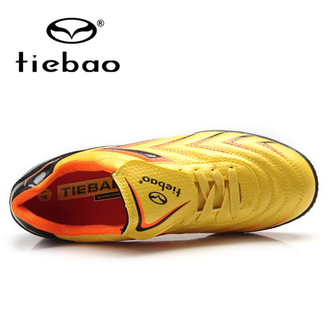 b48dd759d TIEBAO New Kids Football Shoes For Boys TF Soles Turf Soccer Shoes Kids  Shoes Artificial Grass Football Boots children boot