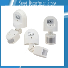 About 180 Degree 12M LED Automatic Adjustable Security Infrared Motion Sensor Switch