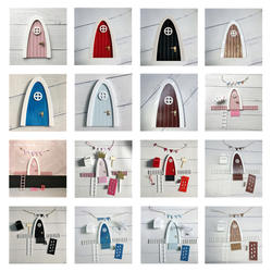 Ручной работы Волшебная Дверь отличный подарок для девочек комнаты миниатюрный ролевые игры Волшебные феи зуб Волшебная Дверь подарок для