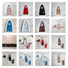 Puerta de hadas hecha a mano, gran regalo para habitación de niñas, juego de imitación en miniatura, regalo de puerta de hadas con dientes