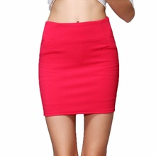 Sexy Summer Mini Short Bandage Women Skirts High Waist Elastic Korean Female Lady Femme Femininas Feminine