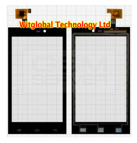 Original New touch screen For Gigabyte Gsmart Roma R2 Plus Edition Touch panel Digitizer Glass Sensor free Shipping new touch screen digitizer touch panel glass sensor replacement for 4 5 gigabyte gsmart maya m1 v2 free shipping