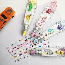 9 teile/los Korea Kreative Korrektur Band Aufkleber Nette Cartoon Buch Dekorative Student Versorgung Neuheit Büro Schule Liefert