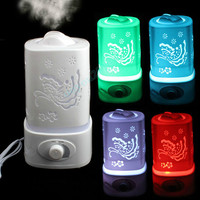 28W 1 5L Ultrasonic Ionizer Humidifier LED Night Light Home Aromatherapy Air Diffuser Purifier Aroma Atomizer