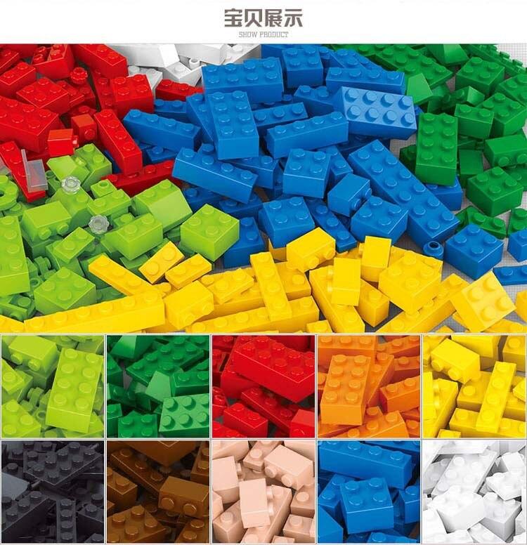 Bainily 415 Pcs Building Blocks City DIY Creative Bricks Toys For Child Educational Building Block
