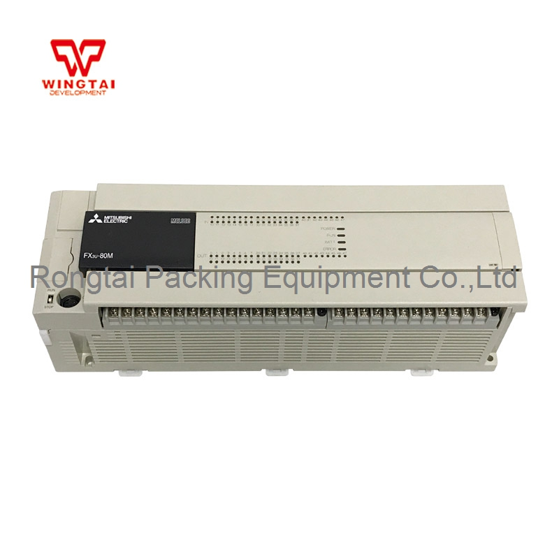 Mitsubishi PLC FX3U-80MR/ES-A Programmable Logic Controller 40 DC IN/ 40 RELAY OUTPUT new original fx3u 128mt es a plc base unit