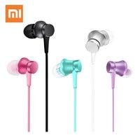 XIAOMI Mi Piston Earphone In Ear Earphones With Micphone Basic Fresh Version Ear Phones Earbuds For