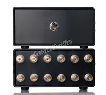 2017 Lastest Music Hall 2(1)-IN-1(2)-OUT Amplifier / Speaker Audio Splitter / Switcher Passive Selector Free Shipping