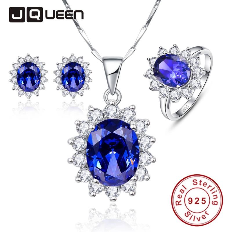 Lavender Tanzanite: ≧Luxury Jewelry Sets Shiny •̀ •́ Cubic Cubic Zirconia Blue