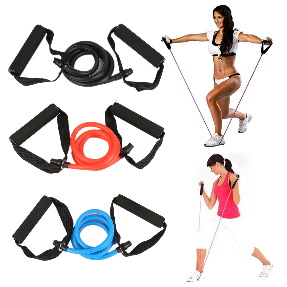 2018 Hot Sale Yoga Pull Rope Fitness Resistance Bands