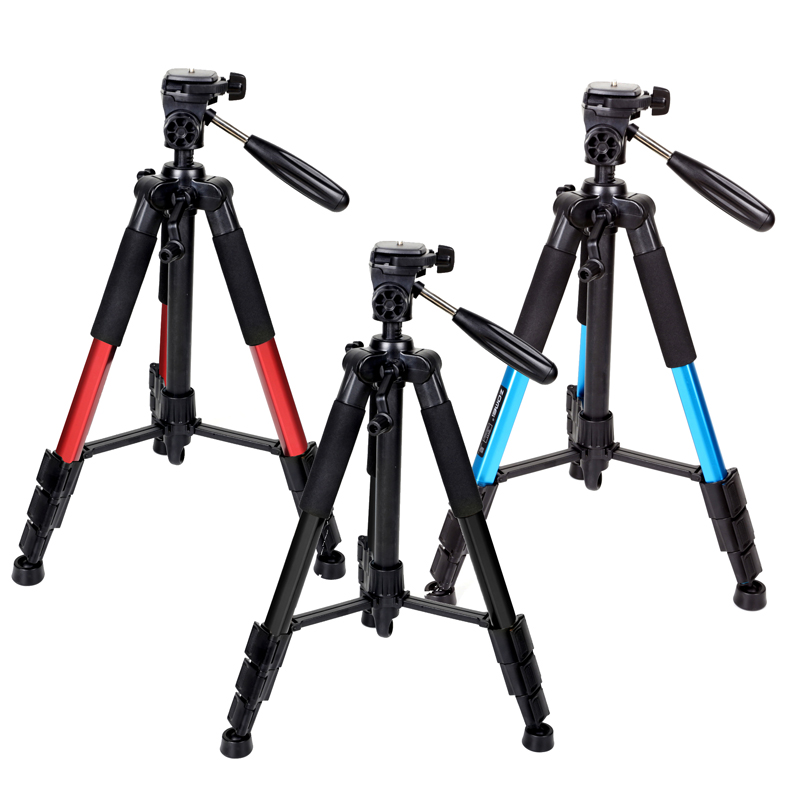 Portable Zomei Q111 Aluminium Tripod + 3 way Pan Head
