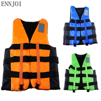 ENNJOI EPE Professional Saving Life Jacket with whistle Water Sports Swimming Drifting Surfing Boating Ski Swimwear Life Vest