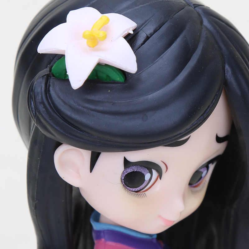 11cm q posket princesa figura brinquedos mulan princesa figura de ação modelo coleção pvc brinquedos