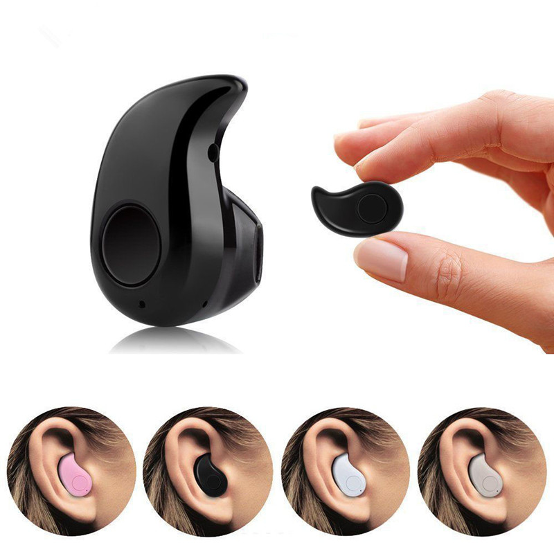 Mini Wireless in-ear Earpiece Bluetooth Earphone Cordless Headphone Stereo Earbuds in ear Headset For Samsung Phone iPhone 7 6