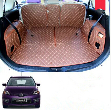 Good quality! Special trunk mats for New Mazda 5 7seats 2015-2006 durable waterproof boot carpets for Mazda 5 2010,Free shipping