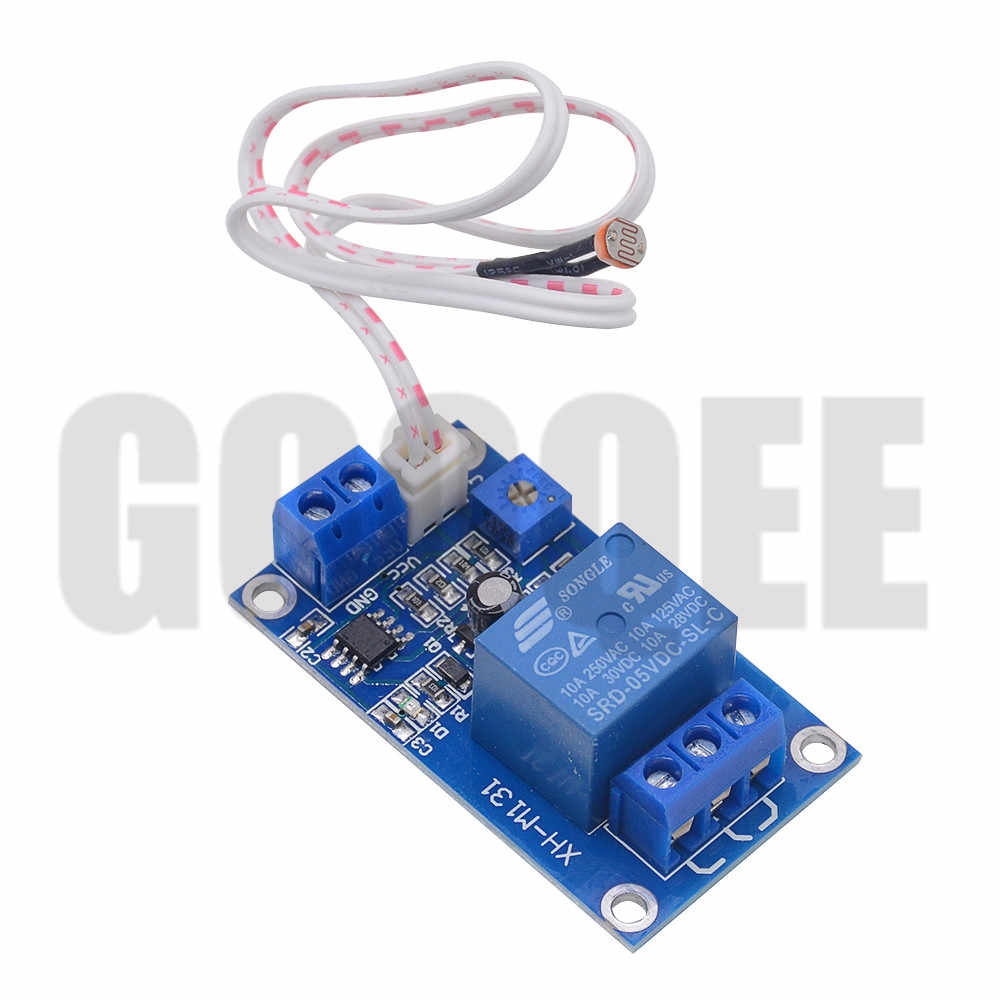 Diode Protection Light Control Switch Relay Module with Precision Adjustable Potentiometer fosa Photosensitive Resistor Module for BESTEP XH-M131 12V
