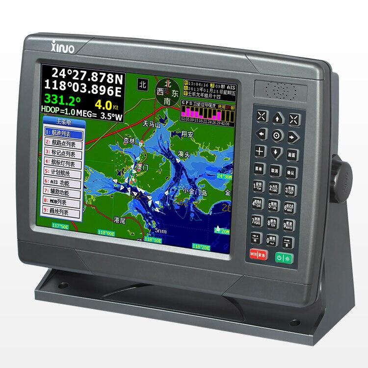 10 дюймов корабль навигации морских gps спутниковый навигатор Локализатор маршрут инструмент XF 1069 Водонепроницаемый дополнительный английс
