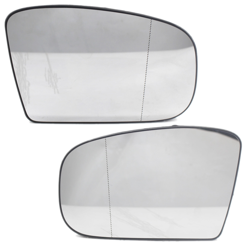 2X Door Side Wing Mirror Glass Wide Angle Heated Fit for Mercedes <font><b>Benz</b></font> <font><b>W220</b></font> <font><b>S500</b></font> image