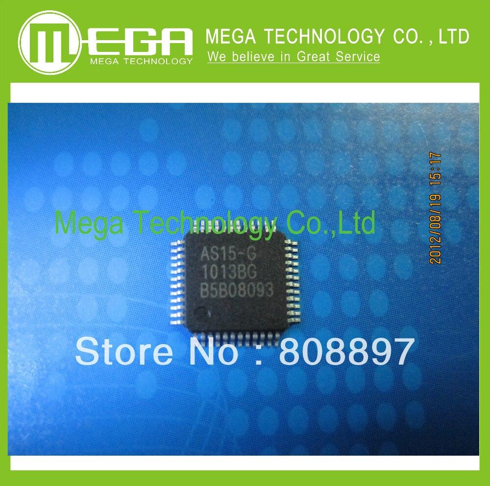 100pcs AS15 G AS15 AS15G QFP48 LCD Chip IC 100 NEW ORIGINAL