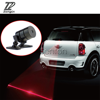ZD 12V For Alfa Romeo 159 BMW E46 E39 E36 E90 Audi A3 A6 C5 A4 B6 B8 Q5 Car Strobe Warning Laser Tail Fog Lights LED Accessories image