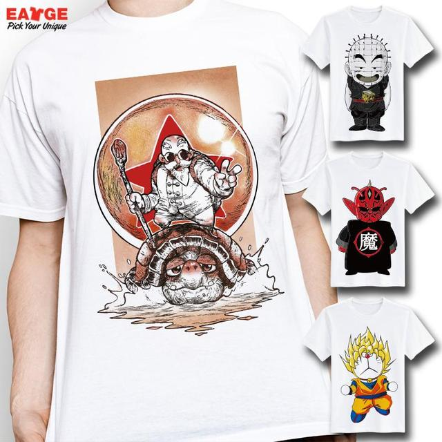 Dragon Ball Z Short Sleeve Printed T shirt