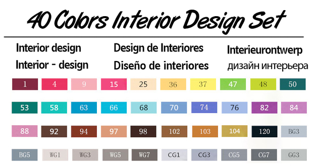 40 Interior Set