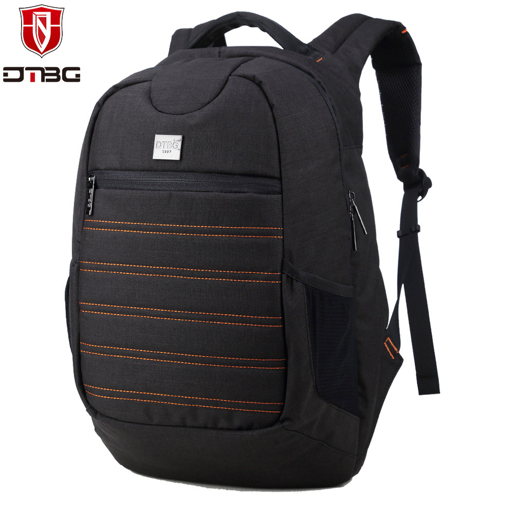 DTBG Waterproof Backpacks For 15.6 inch Laptop Nylon Rucksack Shock-proof Backpack of Travel School Large Capacity Bag for Men