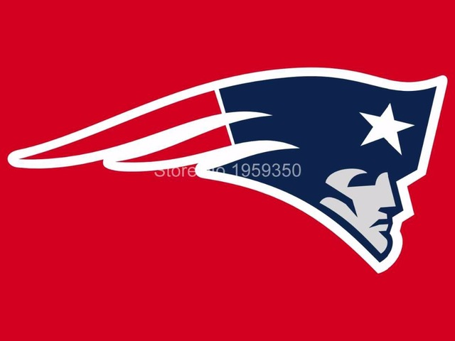 New England Patriots Logo Car Flag 12x18inches Double Sided 100d