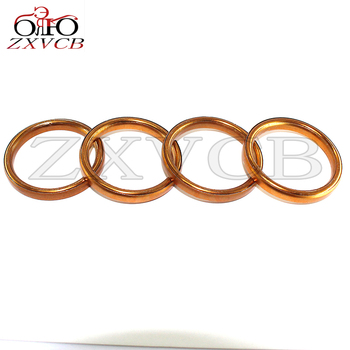 for honda TG50M 1985 1986 XL100 1976 1978 CT125 1977 NX125 1988 1990 SL125 K1 K2 Motor Sport 1971-1973 Exhaust Pipe Gasket image