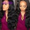 10A Unprocessed Virgin Hair Brazilian Body Wave Hair Product 3 pcs lot Natural Black Cheap Brazilian Virgin Human Hair Body Wave