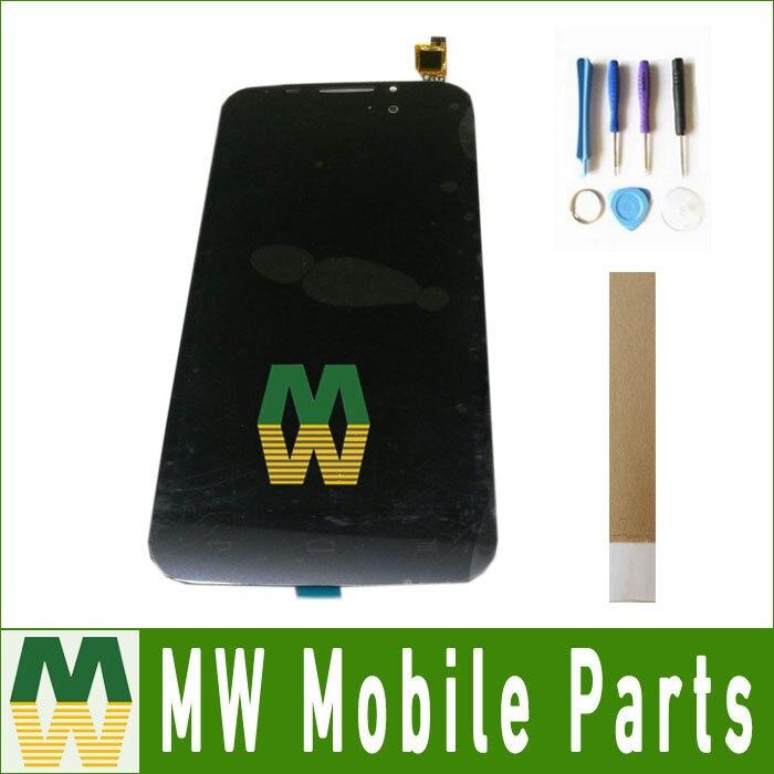 1 pc/lot Pour Alcatel One Touch POP S7 OT-7045A 7045 OT7045 7045Y LCD Display + Écran Tactile Digitizer Noir Blanc couleur