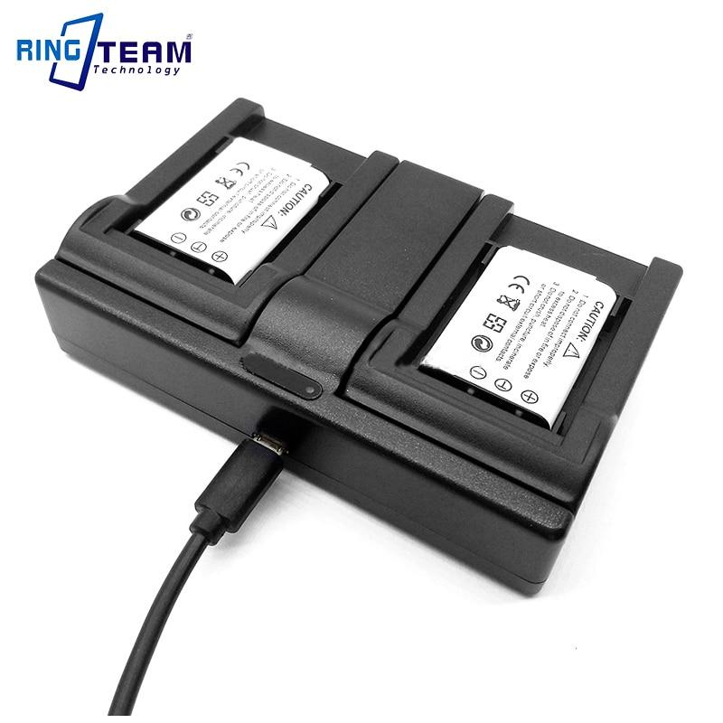 2 Batería Cargador Para Sony Np-bn1 Dsc-w390 Dsc-w380 Dsc-w360 Dsc-w350 Dsc-w330