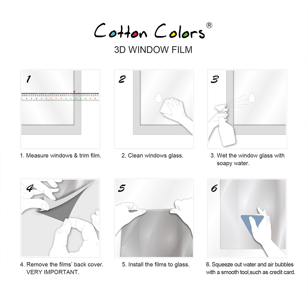 CottonColors Home Bathroom Window TINT Фильмдер, Forosted - Үйдің декоры - фото 4