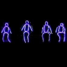 Новый Дизайн LED робот костюм Костюмы Световой Neon EL Провода танцевальный костюм Одежда для сценического шоу, клуб, бар, DJ принимаем Индивидуальные Дизайн
