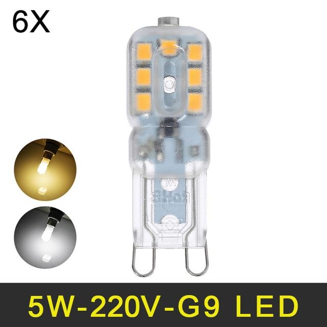 Mini led g9 lamp 5w smd2835 g9 led bulb chandelier led light 220v mini led g9 lamp 5w smd2835 g9 led bulb chandelier led light 220v 240v high quality mozeypictures Gallery