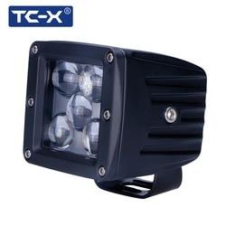 TC-X 5D LED بقعة PTF tumanki ضوء ل السيارات 6000 k طويل المسافة 12/24 V مركبة SUV دراجة نارية offroads شاحنة العمل ضوء الخارجية