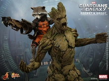 1/6 scale figure doll Guardians of the Galaxy Rocket and Groot,12″ action figures doll.Collectible figure model toy