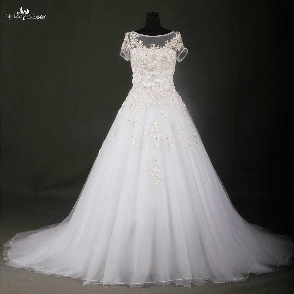 Online buy wholesale silver lace wedding dress from china for Wedding dresses buy online