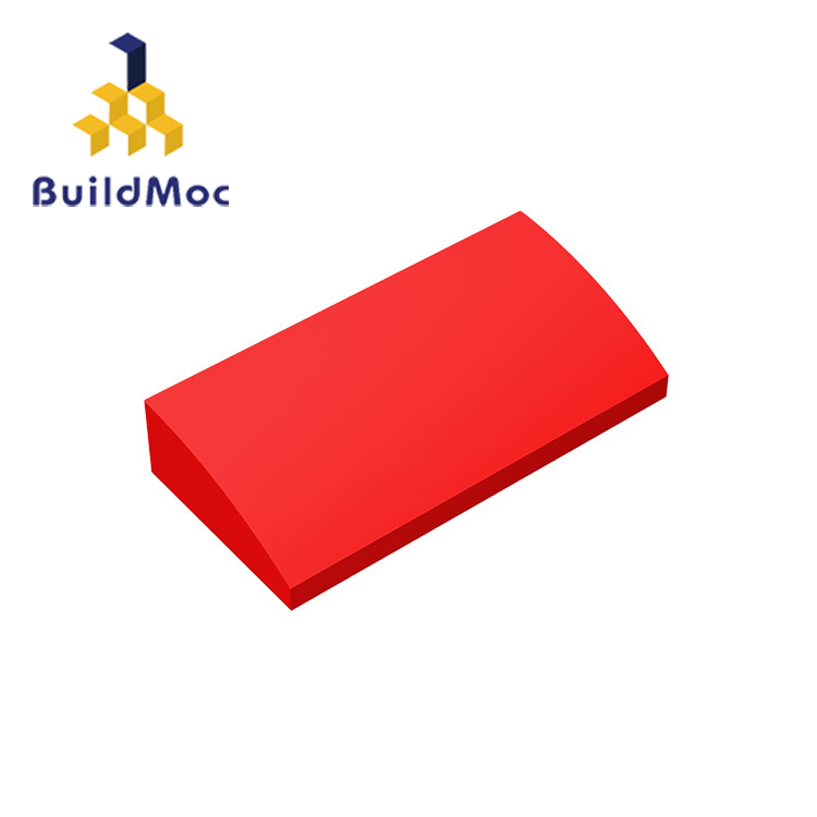 BuildMOC Compatible Assembles Particles 88930 2x4 For Building Blocks Parts DIY LOGO Educational Tech Parts Toys