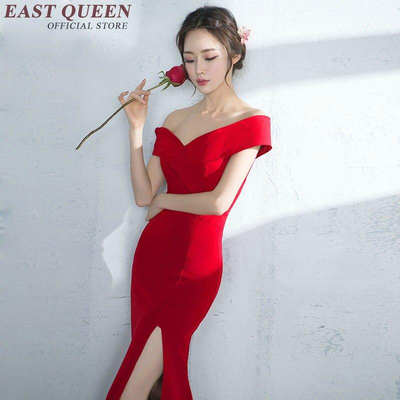 Robes Maxi longues élégantes robes de style Oriental robe sexy élégantes femmes d'affaires vêtements robe élégante KK1224