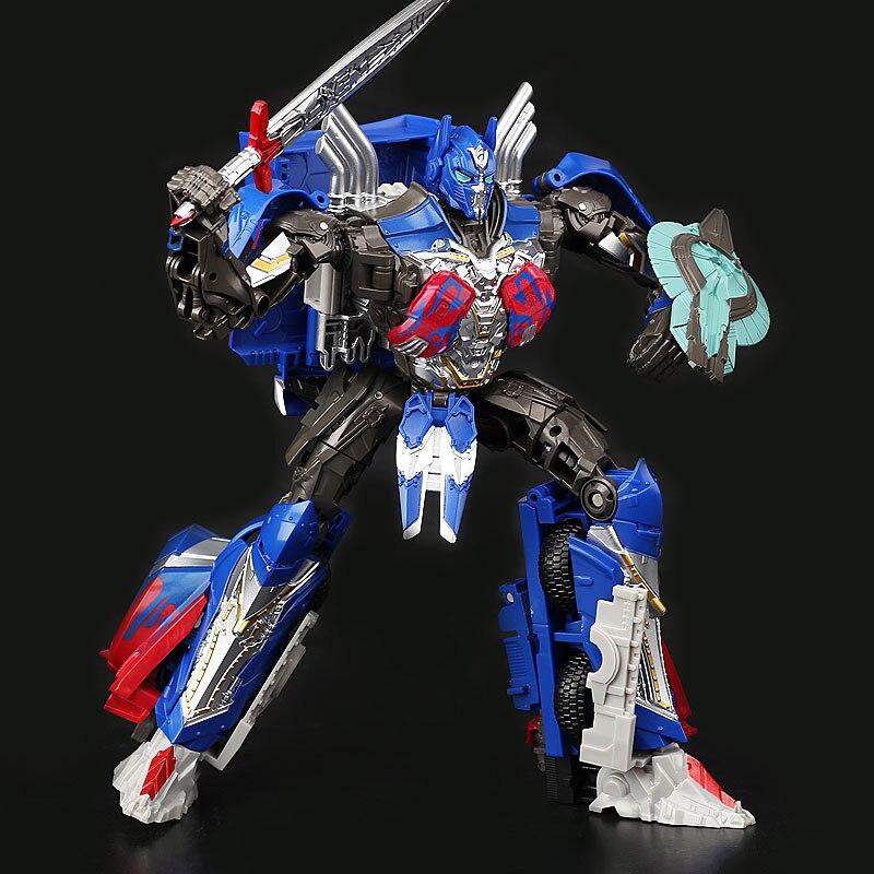 "Deformation Black Mamba The Last Knight Optimus Prime 8/"" H6001-1 Action Figure"