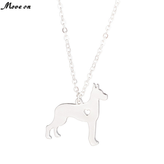 SALE Great Dane Necklace Large Dog Pendant Jewelry  Breed Pet Jewelry Dog Christmas Gifts  Memorial Gift Family Pet For Lovers