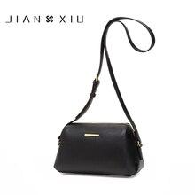 JIANXIU Merk Vrouwen Messenger Bags Hoge Kwaliteit Koeienhuid Schouder Crossbody Lederen Tas 2019 Mode Vrouwelijke 3 Kleuren Kleine Tas