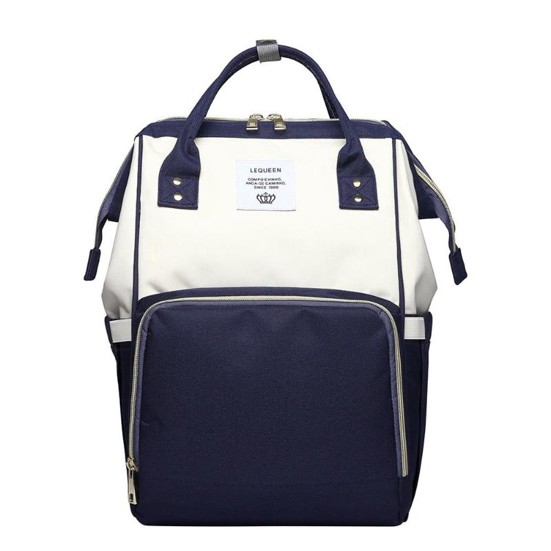HTB1mRkDc56guuRkSnb4q6zu4XXaI LEQUEEN Fashion USB Mummy Maternity Diaper Bag Large Nursing Travel Backpack Designer Stroller Baby Bag Baby Care Nappy Backpack