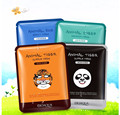 Brand Skin Care Sheep/Panda/Dog/Tiger Packing Facial Mask 30g*4pcs Moisturizing Oil Control Cute Animal Face Masks